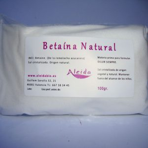 Betaína natural