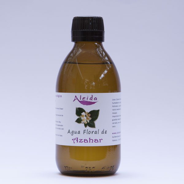 Agua floral de azahar