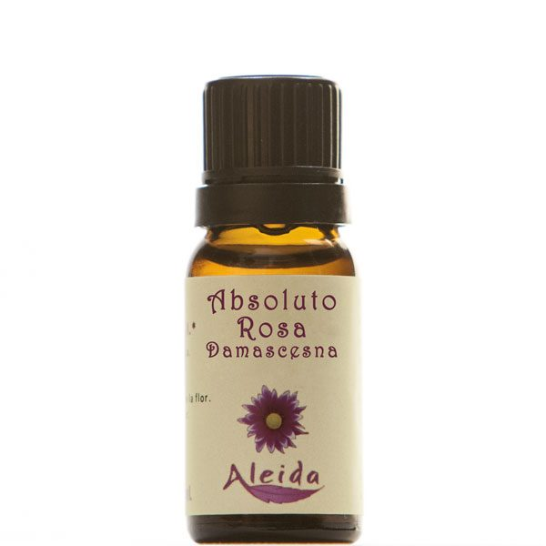 Aceite absoluto de rosa damascena