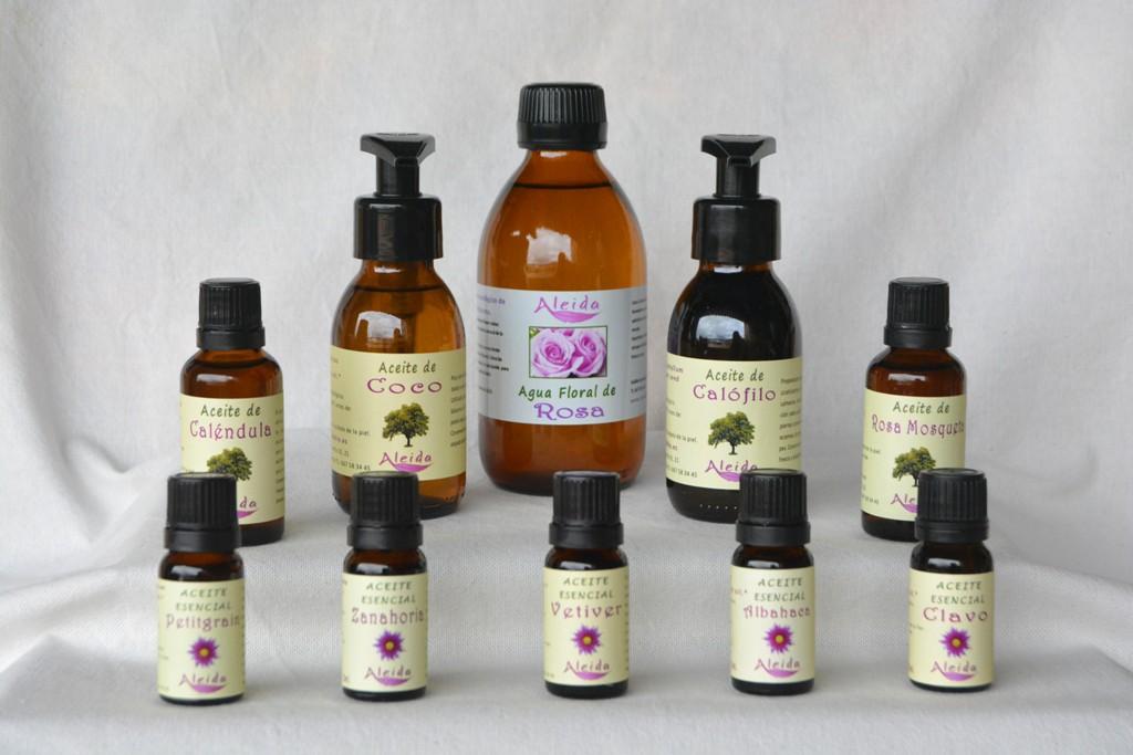 Aromaterapia y elaboración de cosmética natural
