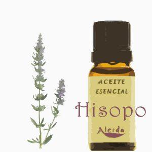 Aceite esencial de hisopo