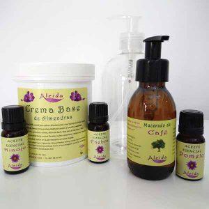 Kit elaboración crema anticelulitica