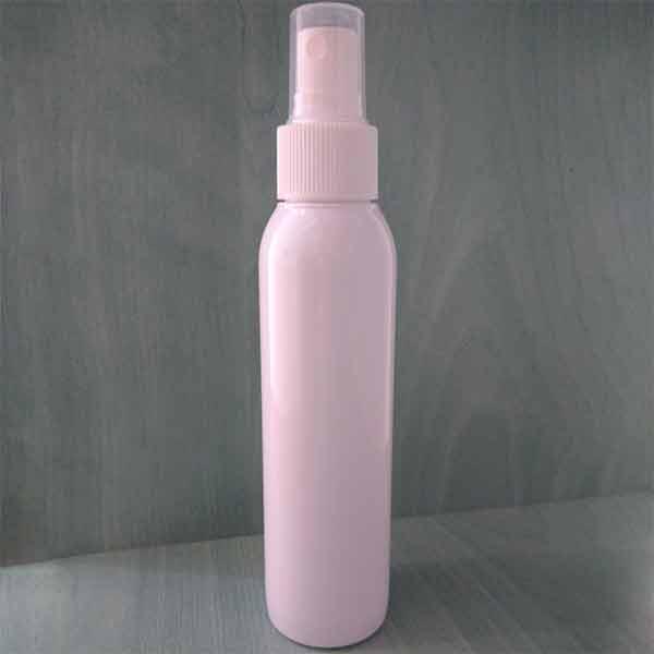 Botella de plástico con pulverizador 125ml y 250ml